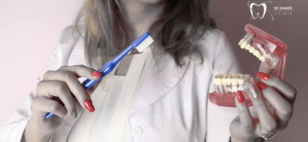 تمیز کردن دندان شیری